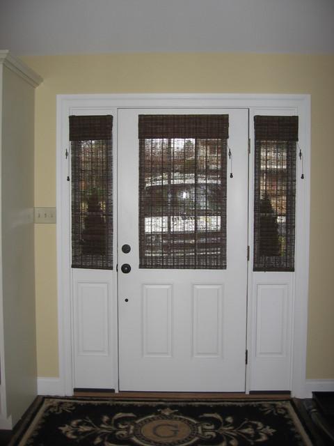 Glass Door Solution - Window Treatments - philadelphia - by Blinds & Designs