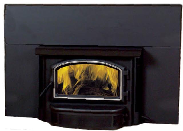Vermont Castings SSI30 Savannah Medium Wood Burning Insert Fireplace modern-fireplaces