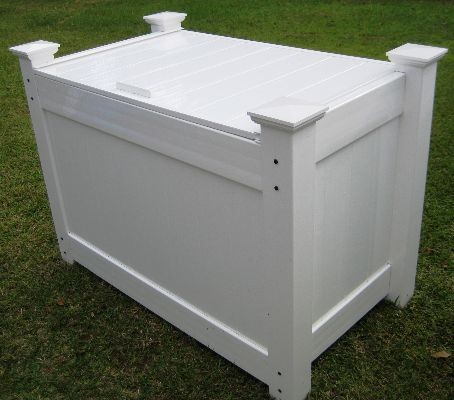 Outdoor Garbage Can Storage Bins