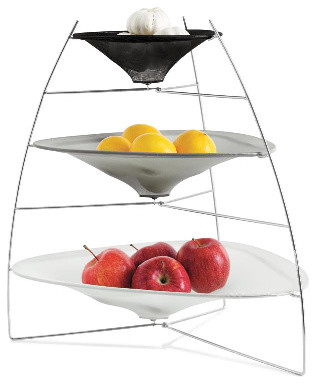 Gia Tier Tray contemporary food containers and storage
