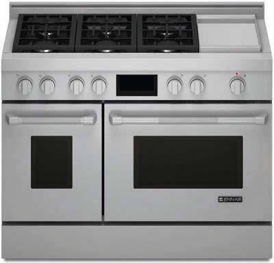 oven range double oven side by side electric range