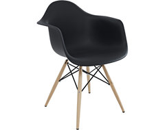 Steel | Lark Pyramid Dining Chair contemporary-dining-chairs
