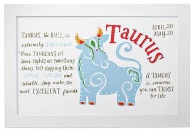 Taurus Zodiac Art traditional-artwork