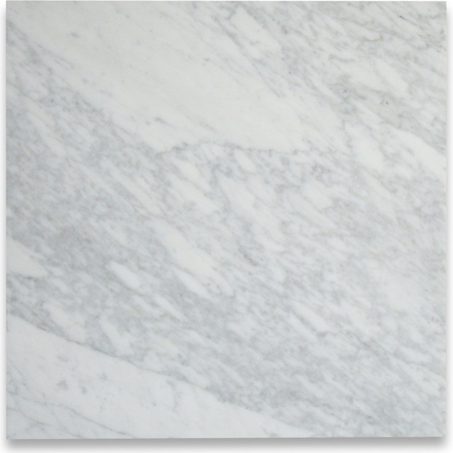 Italian Marble Tile Floor : Carrara white tile polished marble from italy