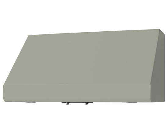 "36"" Prizer Incline Hood in Light Grey (RAL 7035) - Light Grey (RAL 7035)"