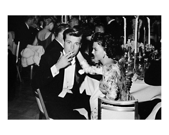 Frank Worth Photograph of Robert Wagner and Natalie Wood -