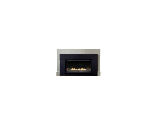 Empire Comfort - Loft Medium DV Remote-Ready MV Fireplace Insert - Natural Gas - The incredible popularity of the Loft Direct Vent Medium Gas Fireplace Insert is attributable to some extent to its sophisticated modern design, but it's also because this is one of the most efficient, most powerful heating solutions you'll find. This unit boasts a fantastic look and 27000 BTU's to help you heat your home effectively. The fireplace itself features an efficient and dynamic burner, convenient co-linear venting, and a large heat-resistant ceramic glass window that give you a great view of the flames. Those flames look even better thanks to the included black porcelain liner, and the heat the flames generate is distributed for maximum comfort by the built-in variable speed blower. On top of all of these benefits, owners can choose from two different metal surrounds, plus the unit carries a 3-year limited warranty. Remote-ready millivolt controls also offer simple and precise operation. You get lots of fireplace with a lot less expense and hassle when you choose the Loft to heat your home.