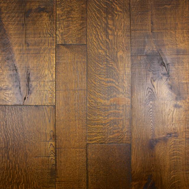 Custom French Oak Wood Flooring Contemporary Hardwood