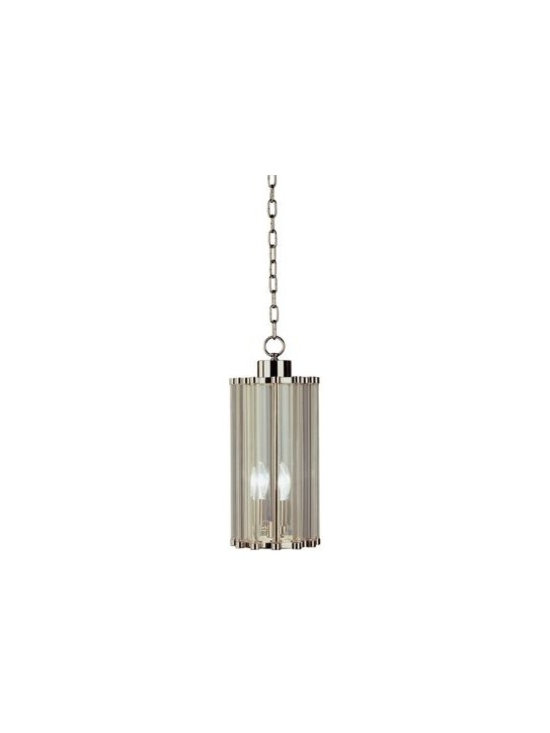 Robert Abbey Cole Glass Rod 17-Inch-H Pendant -
