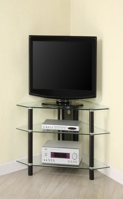 Bermuda Corner Tv Stand Modern Entertainment Centers