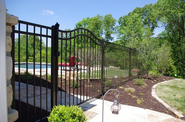 Pool Gates traditional-home-fencing-and-gates