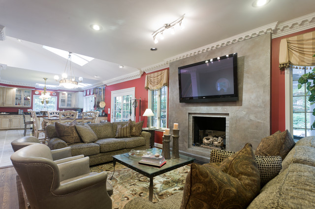 Living Room by Beth Nevins at Sheffield Furniture & Interiors traditional-living-room