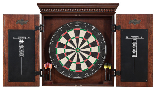 Athos Dart Board - Traditional - Board Games And Card Games - by American Heritage Billiards