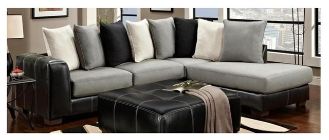 Landon 2-Pc Sectional Set contemporary-sectional-sofas