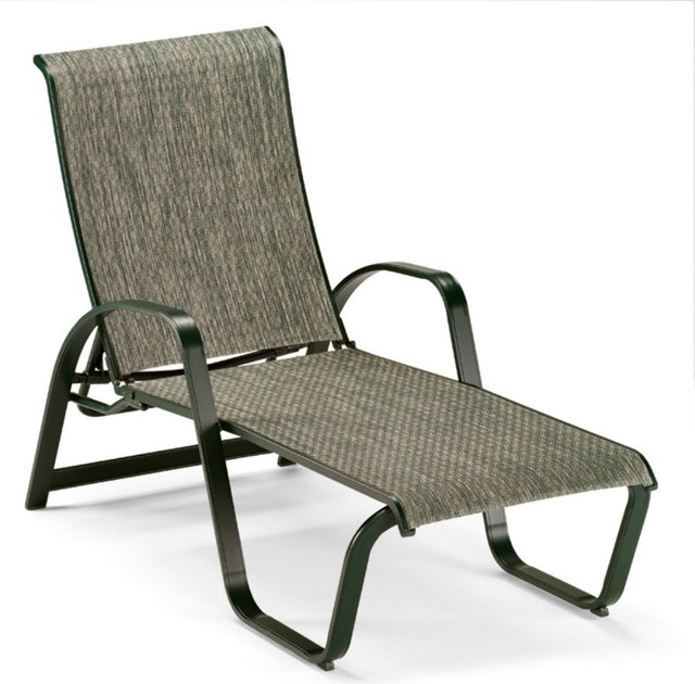 Telescope Casual Primera Sling Chaise Lounge modern outdoor chaise lounges