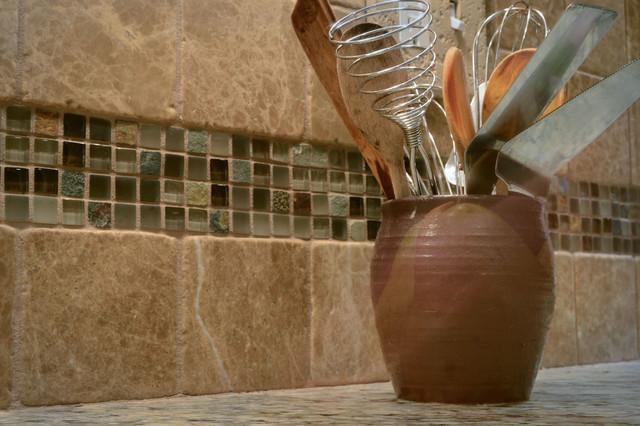 West Hartford Kitchen Transitional Tile Other Metro By Kirsten Floyd Interior Design Llc