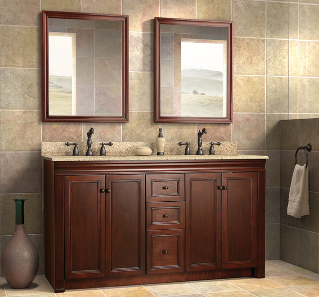 Wolf Bath Furniture Shawna Collection Transitional Bathroom Vanities And Sink Consoles