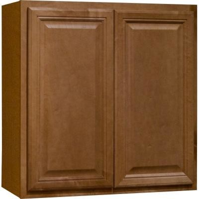 Hampton Bay 30x30x12 in. Wall Cabinet in Cambria Harvest KW3030-CHR - Contemporary - Kitchen ...