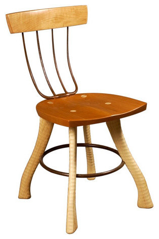 Dining Pitchfork Chair eclectic-dining-chairs