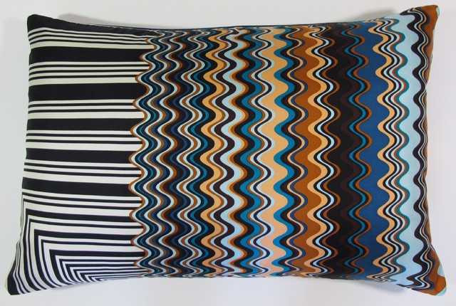 Amalfi Shore Pillow  from MIssoni Scarf contemporary-decorative-pillows