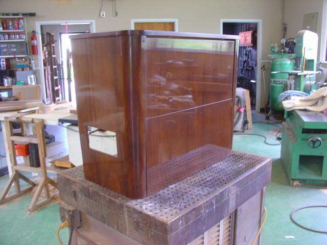 Antique Radio Cabinets Restoration/Refinishing - Traditional - new ...
