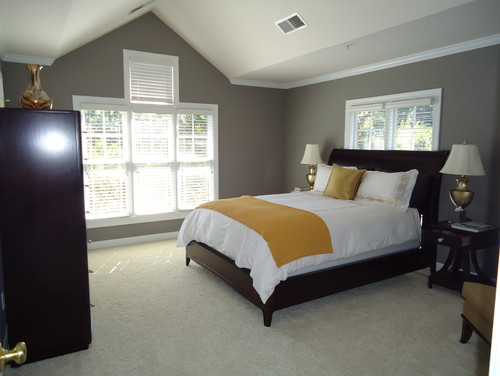 Master Bedroom Window Treatments