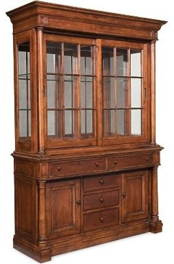 Fredericksburg China Cabinet buffets-and-sideboards