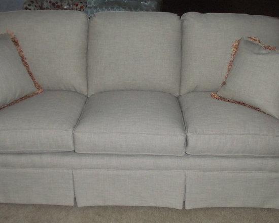 Customer Custom Orders - Clayton Marcus Stanford Sofa