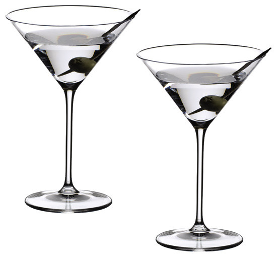 Riedel Vinum XL Martini Glasses - Set of 2 traditional-wine-and-bar-tools