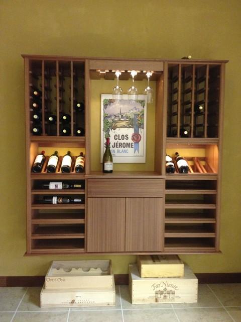 Select Series 'Wall Install' Floating wine racks contemporary-wine-racks