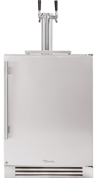 "True Professional Series 24"" Dual Tap Beverage Dispenser refrigerators-and-freezers"