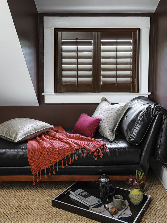 """Smith & Noble 3 1/2"""" Louver Wood Shutters - Handmade from top-grade, sustainably grown 100% basswood, the clean, structured lines of our custom Wood Shutters instantly create an atmosphere of nobility. Wood Shutters are shipped in 6 business days. Starting at $41"""
