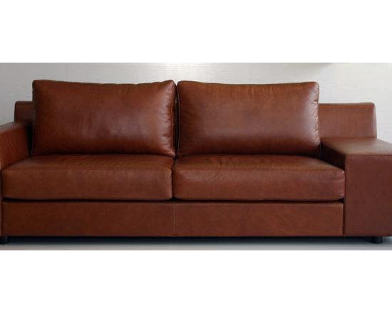 eccoleather - Ecco Loveseat Sofa