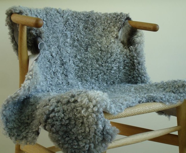 Huset Gotland Sheepskin eclectic throws