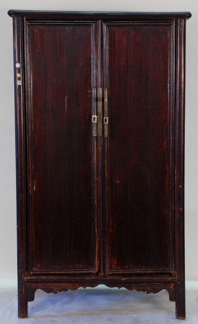 Rare Antique Chinese Ming Style Armoire Cabinet Asian Armoires And