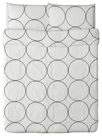 TVÅBLAD CIRKEL Duvet cover and pillowcase(s) - modern - duvet ...