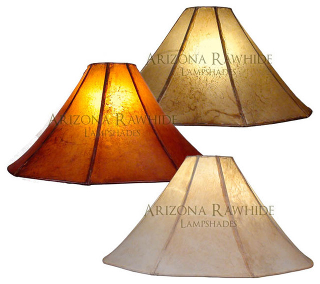 rawhide lamp shade extra large lamps size 13 h x 26 w 6 w t. Black Bedroom Furniture Sets. Home Design Ideas