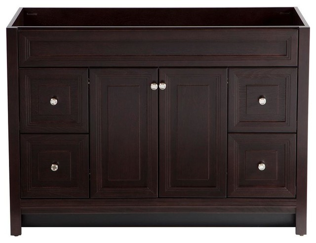 Home Decorators Collection Cabinets Brinkhill 48 In Vanity Cabinet Only In Contemporary
