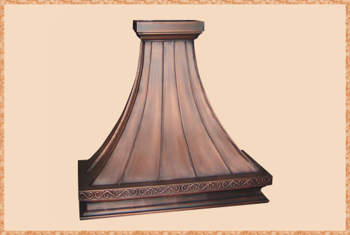 Copper Range Hoods traditional-range-hoods-and-vents