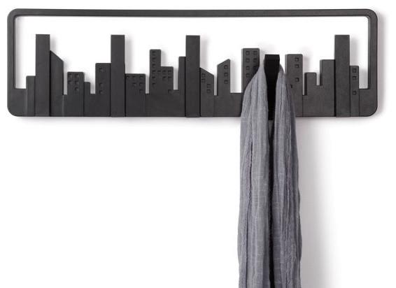 Skyline Multi Hook modern-hooks-and-hangers
