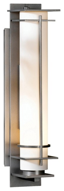 "Arts and Crafts - Mission Hubbardton Forge After Hours 20"" High Outdoor Wall Lig traditional-outdoor-lighting"
