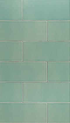 Koi Ceramic Art Tile- Ann Sacks Tile & Stone eclectic-tile