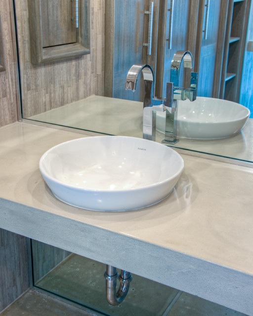 """Master Bath With Sleek Modern Design"" modern-bathroom"