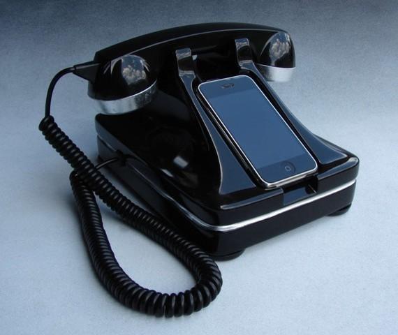 iRetrofone Classic Deluxe Silver home-electronics