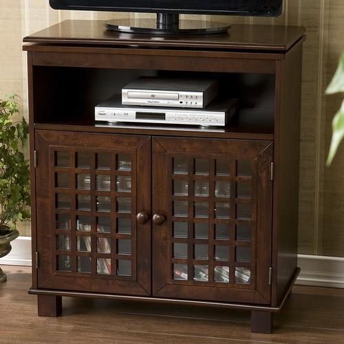 "Barrick Swivel Top 28"" TV Stand modern-media-storage"