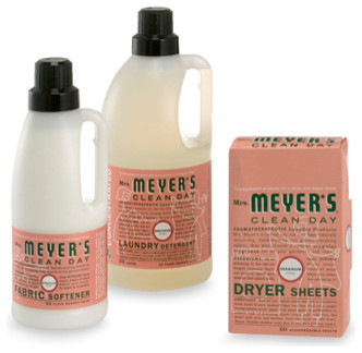 Mrs. Meyers Clean Day Aromatherapeutic Geranium Laundry Cleaning Products contemporary laundry products