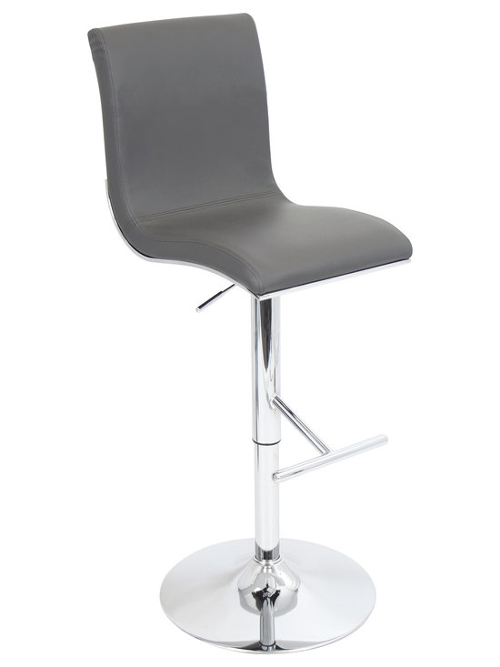 Spago Bar Stool - GRAY