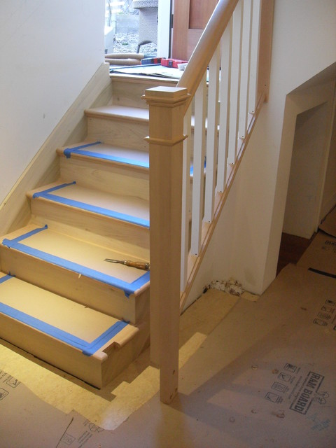 Removable Handrail Traditional Portland By Portland