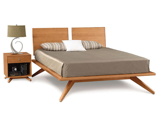 Astrid Beds With Adjustable Headboard Panels By Copeland - Copeland furniture has been founded and organized by a family with a vision. They set out to test their fortune in designing furniture in the 1970 and have successfully created designer furniture which is preferred by customers all over the world. Most of the furniture from Copeland is made of hard timber like Maple and Walnut. They add a classy look to the contemporary styles or designs of the furniture. The range of furniture from Copeland is called transitional.