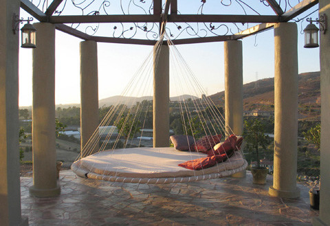 Outdoor Bed, Hammock Bed contemporary-hammocks